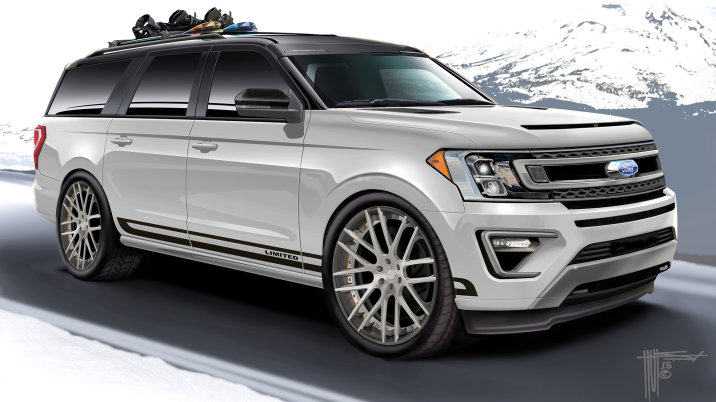 Holly Customs 2018 Ford Destination Expedition