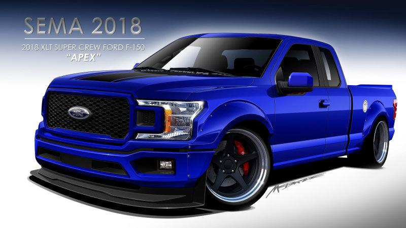 Ford F-Series 2018 SEMA