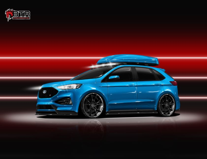 2019 Ford Edge ST Blood Type Racing